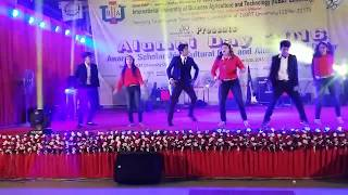 IUBAT Gobinda tribiute - group dance - live stage program || Antor ,Meghla,Akash,Ety,Ripa