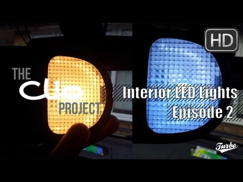 The Clio Project: Ep #2 - 'Changing Interior Bulbs to LED'