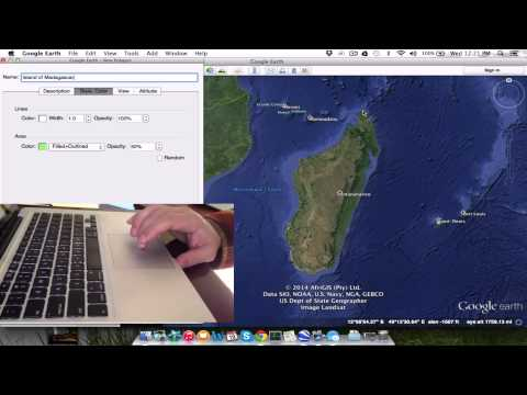 Google Earth Polygons and Placemarks hack