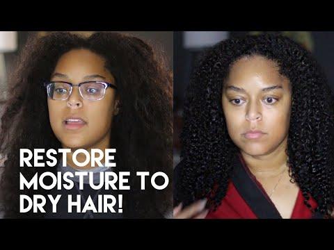 HOT OIL TREATMENT » RESTORING DRY HAIR | Danielle Renée