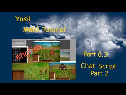 #6 3 Unity 5 Tutorial MMO Chat with Player Name