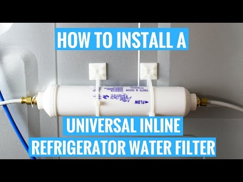 How to Install a Universal Inline Refrigerator Water Filter