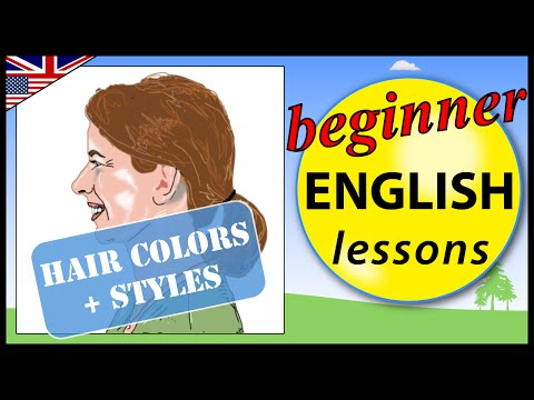 Hair colors and styles in English  | Learn English Lessons - Beginner vocabulary