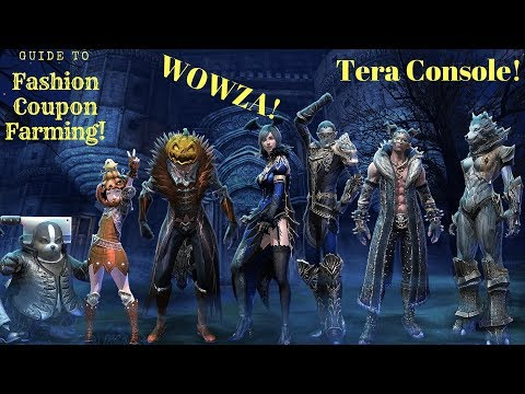 Tera Console How To Farm Fashion Coupons