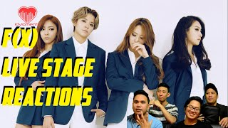 [4ladsreact] F(x) - Diamond   4walls Comeback Stage Reactions