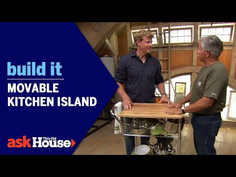 Build It: Movable Kitchen Island