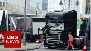 Berlin attack: Police uncertain detained suspect drove lorry - BBC News