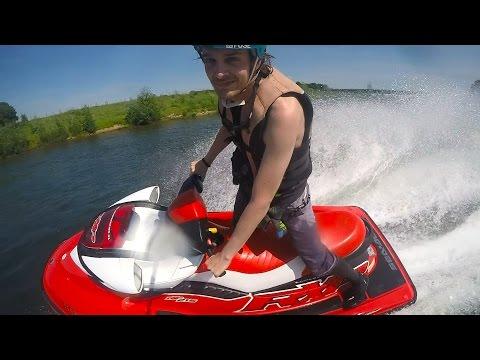 Swivel Homemade Jetski 360 Test Great Footage!