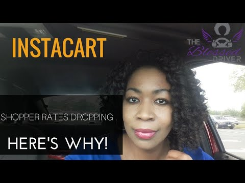 Instacart Shopper Rates Dropping? Here's Why!