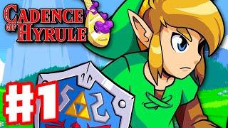 Cadence of Hyrule - Gameplay Walkthrough Part 1 - Crypt of the Necrodancer Feat the Legend of Zelda!