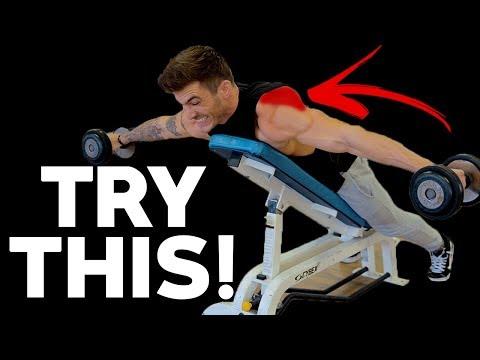 5 Best Rear Delt Exercises (DUMBBELLS ONLY!)