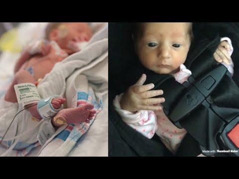 Teen Mom Brings Preemie Home from NICU | Vlog