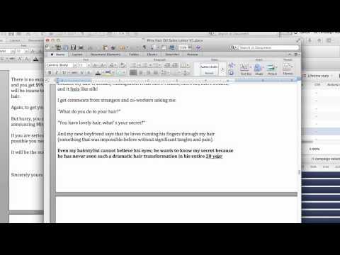MHO Sales Letter V1