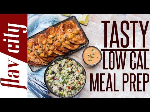 Lean Mean Weight Loss Recipes - Epic Low Calorie Meal Prep