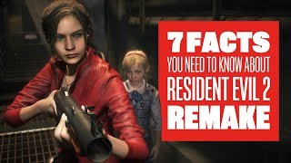 7 New Things You Need To Know About Resident Evil 2 Remake: Resident Evil 2 Remake Claire Gameplay
