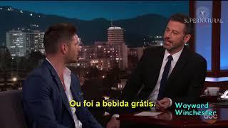 Jensen Ackles em entrevista completa no Jimmy Kimmel Live legendado PTBR