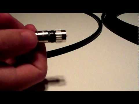 Custom Length Quad-Shielded RG6 Coaxial Cable (Weatherproof)