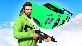 THE LAST SECOND OF MY LIFE.... (GTA 5 Funny Moments)