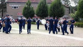 Op Open Monumentendag 2012 was het Historisch Tamboerkorps van de Koninklijke Marechaussee ook aanwezig en gaf een demonstratie.