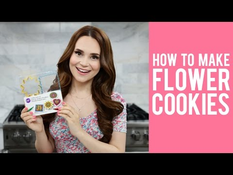 How to Make Flower Cookies with Rosanna Pansino