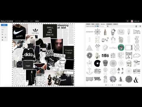 Making a Cluttered Magazine Set on Polyvore / create with @wintervale