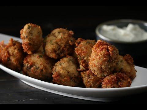 Crab Stuffed Mushrooms   Sanjeev Kapoor Khazana