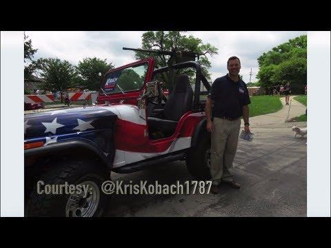 Kris Kobach Old Shawnee Days Surprise