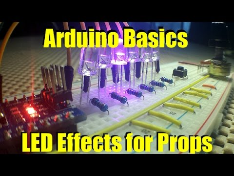 LED Light Effects for Props