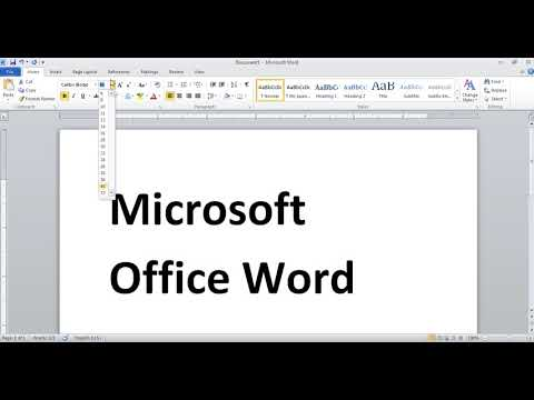 Shortcut Key Activation in Microsoft Office Word