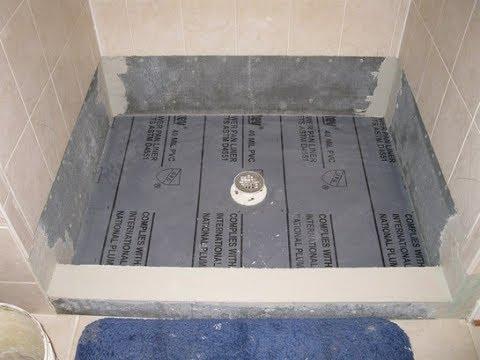 Proper Way To Set WALLBOARD For Shower