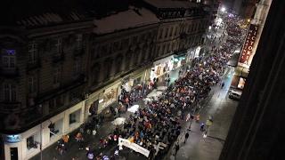 Marș spre guvern pe Calea Victoriei - protest anticorupție - 4 februarie 2017