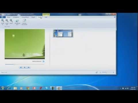 How to use Windows Live Movie Maker Basics
