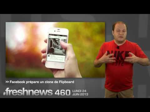 freshnews #460 Nokia et les Zombies. Facebook copie Flipboard. Instagram Video (24/06/13)