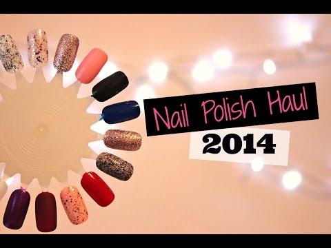 Nail Polish Haul 2014!   Viki NailBeauty