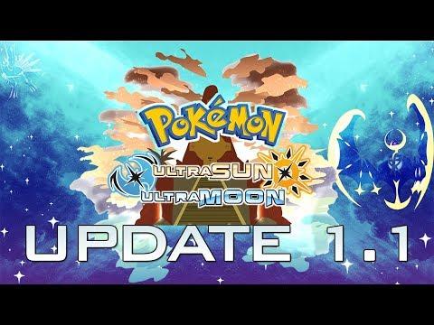 Pokemon Ultra Sun & Ultra Moon Update 1.1 is Out Now!