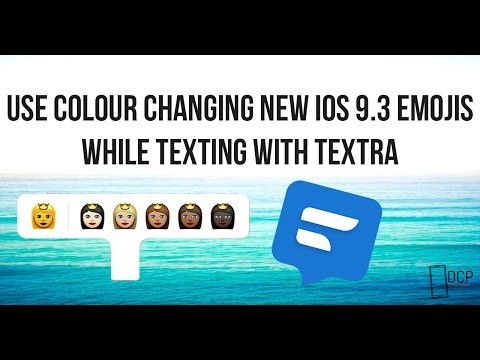 iOS 9 EMOJIS COLOUR CHANGING WHILE TEXTING NO ROOT! - DCP
