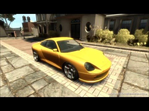 GTA 4 : My Top 10 Favorite Cars