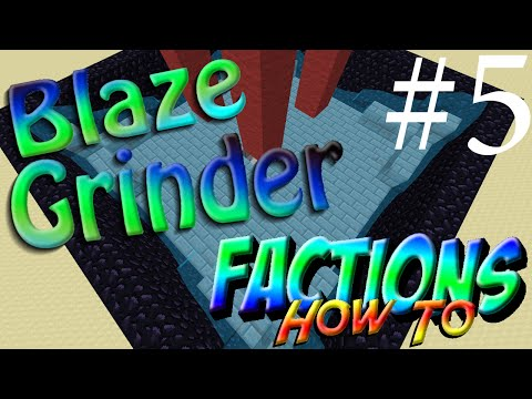 BLAZE GRINDER!!! Minecraft Factions How To w/ TheProVidz