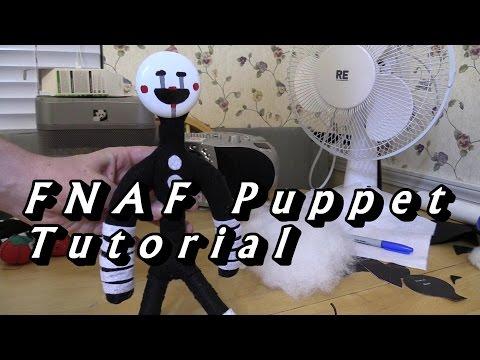 FNAF the Puppet plush tutorial