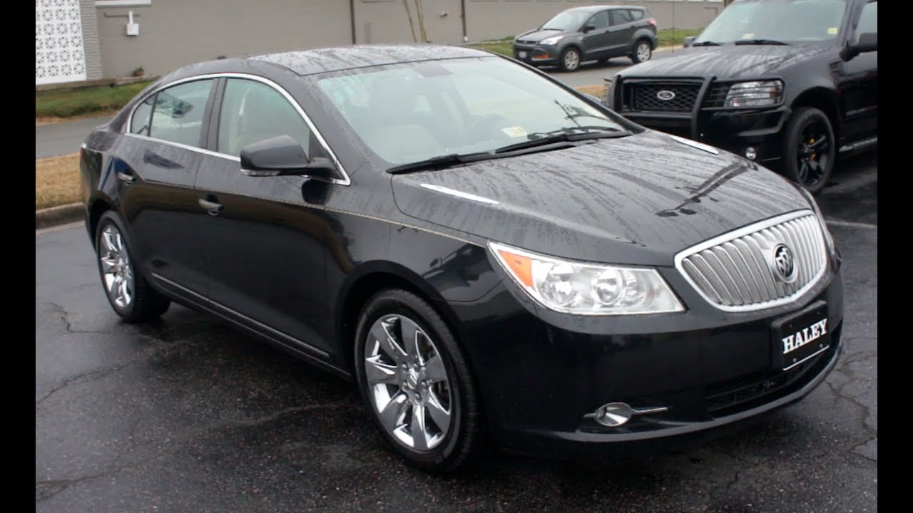 *SOLD* 2010 Buick Lacrosse Walkaround, Start up, Tour and Overview