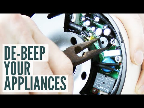 De-beep Your Appliances: removing a piezo buzzer from a kettle