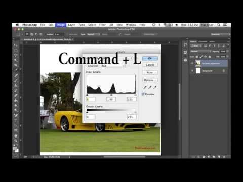 Mac Only Shortcuts in Photoshop CS6