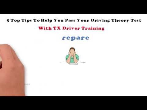 5 Top Tips To Help You Pass Your Driving Theory Test