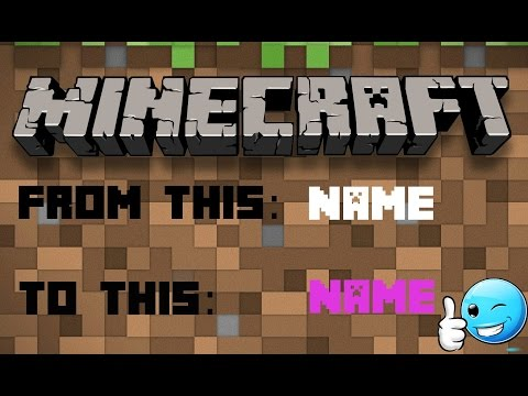 How to change the color of your name in Minecraft 1.10.2!
