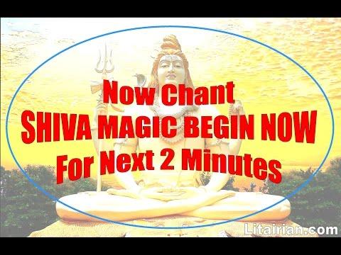 Switchword SHIVA MAGIC BEGIN NOW (Invoke Lord Shiva)