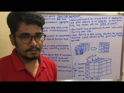 Data Mining & Business Intelligence | Tutorial #15 | Data Reduction - Data Cube Aggregation