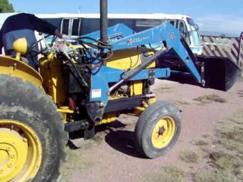 Massey Ferguson Industrial Tractor