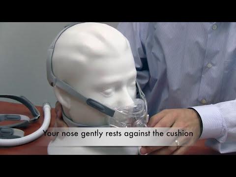 Respironics Amara View Full Face CPAP Mask