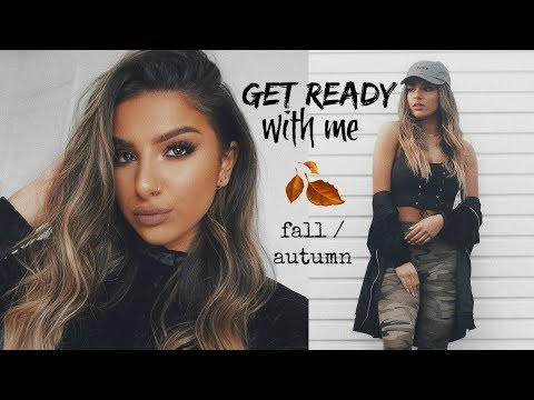 GET READY WITH ME - MAKEUP, HAIR & OUTFIT  |  FALL / AUTUMN 2017