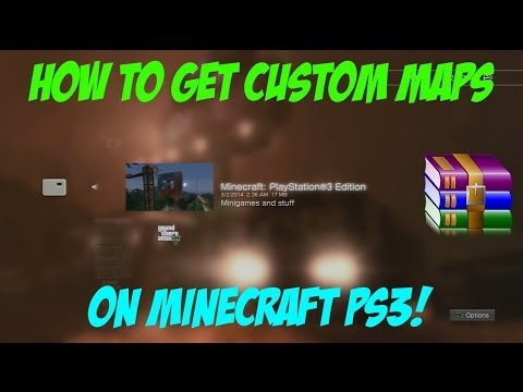 How to Download Minecraft PS3 Maps | Tutorial [READ